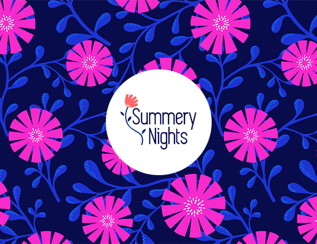 Summery Nights pattern collection